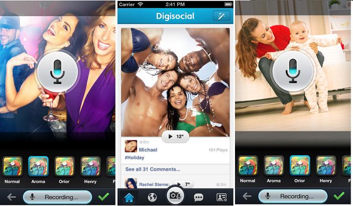 Digisocial app