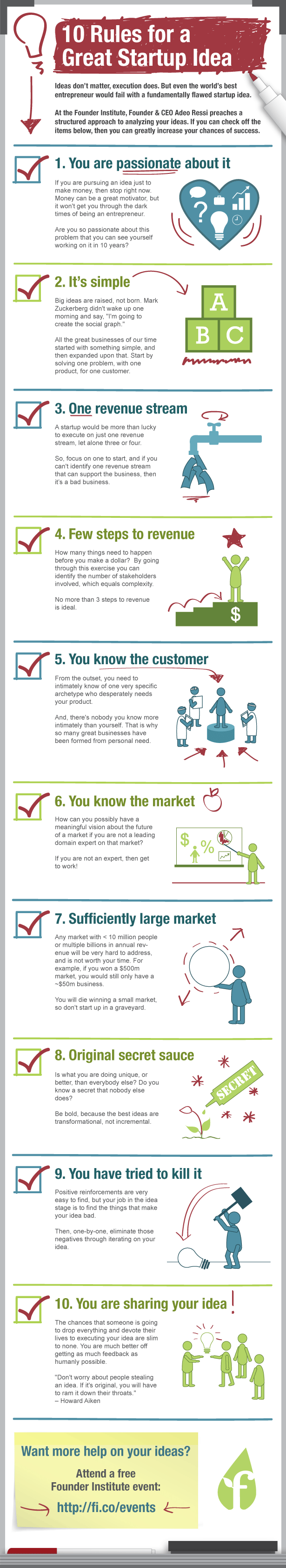 10-startup-idea-rules-infographic
