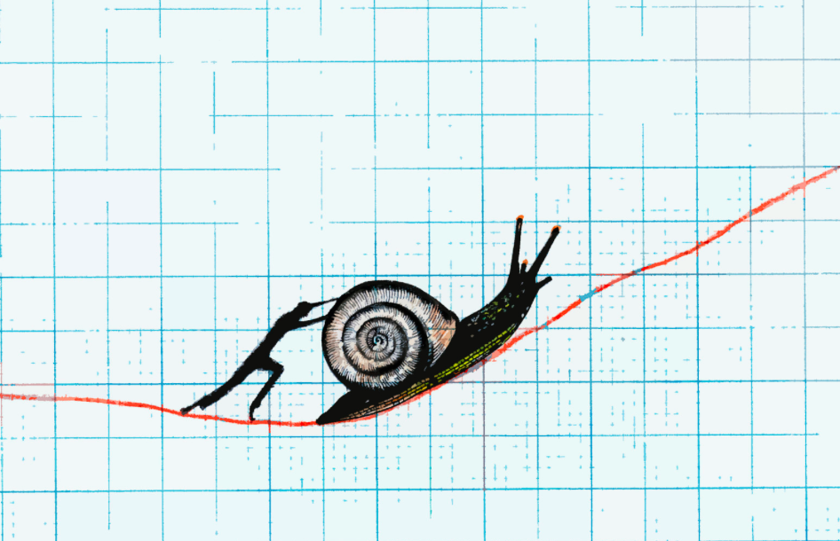 Slow business growth